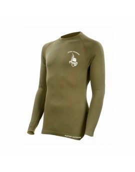Tee shirt technical line légion manches longues coyote