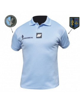 Polo GENDARMERIE Homme manches courtes 240gr