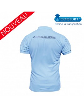 Polo GENDARMERIE Homme manches courtes 390gr
