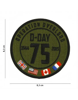 Ecusson D-day OVERLORD