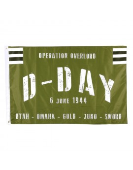 Drapeau D-day OVERLORD