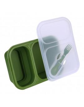Boîte à repas pliable