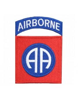 Ecusson 82E Airborne