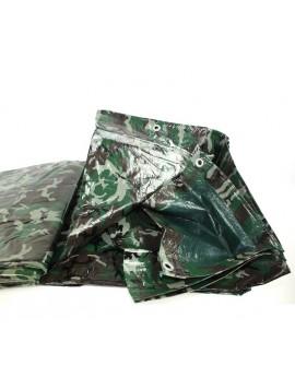 Bache nylon camouflage 4m x 5m