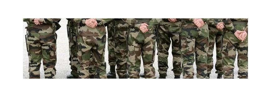 Vêtements Militaires pour femmes et enfants