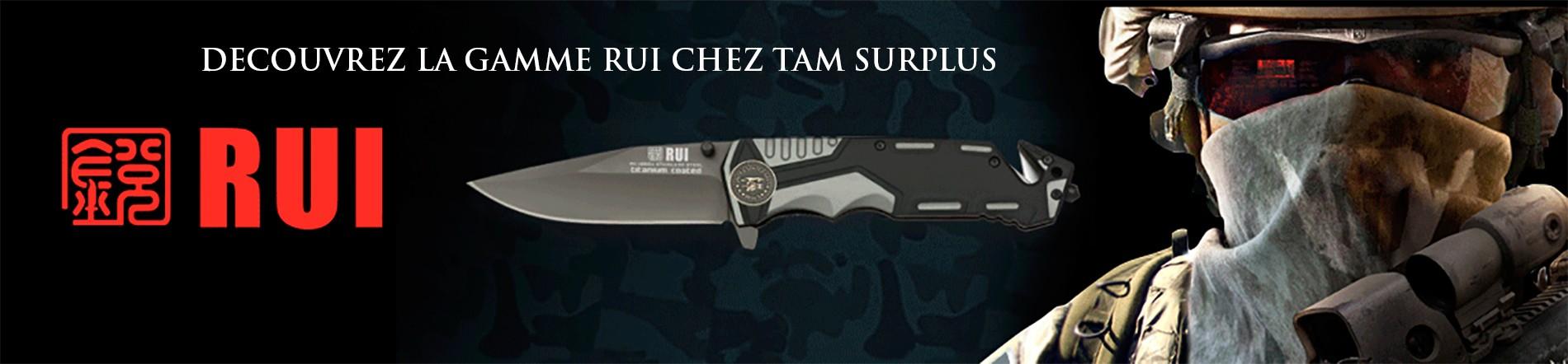 Nouvelle gamme de couteaux RUI