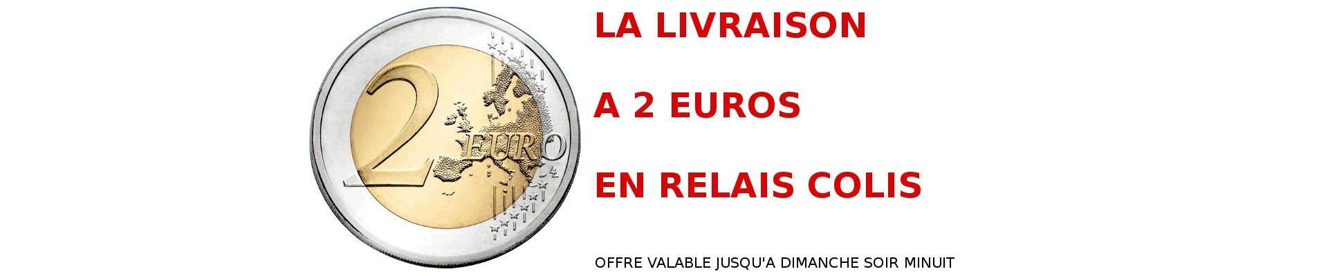 Livraison 2 euros relais colis pickup